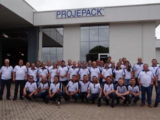 Projepack mobiliza equipe para ano de superação na Convenção de Vendas 2015