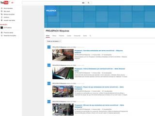 Acompanhe a fanpage e conheça as novidades no canal do YouTube