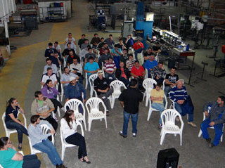 Projepack mobiliza equipe na SIPAT 2015