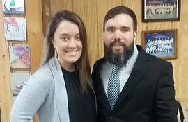 Pastor Daniel & his wife Kelli
