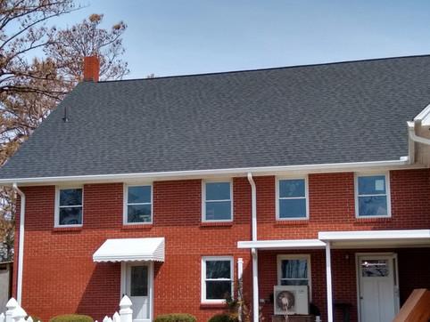 Roof --Fellowship Hall side