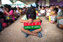 Please pray for our shoeboxes
