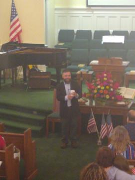 Pastor Daniel Melton