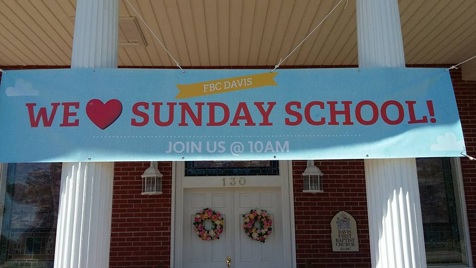 Sunday School Spring Campaign