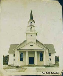 Church Rebuilt 1947