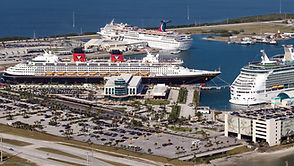 Night-time Lighting at Port Canaveral – Cape Canaveral, FL