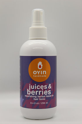 Oyin Handmade - The Juices Hydrating Herbal Leave- Ins 8.4 oz