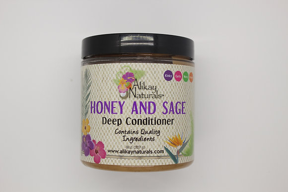 Alikay Naturals - Honey & Sage Deep Conditioner 8 oz.