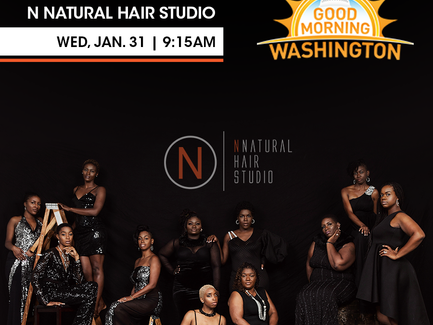 Catch Us on Channel 8's Good Morning Washington tomorrow at 9:15 AM!!!