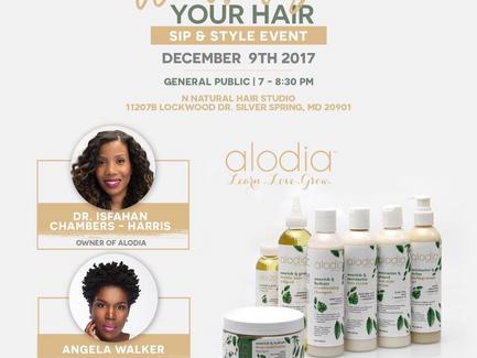Winterize Your Hair w/ Alodia Haircare