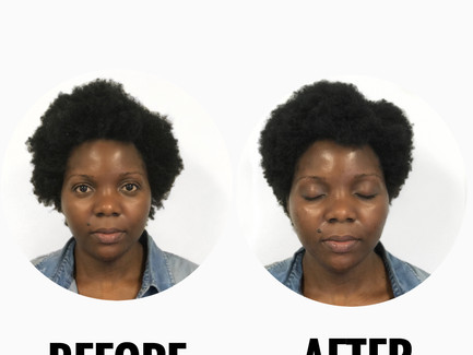 Why do we trim hair in its textured state?