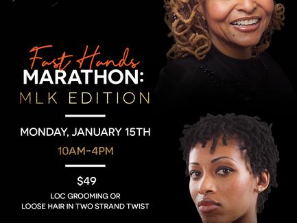 Fast Hands Marathon: MLK Edition!
