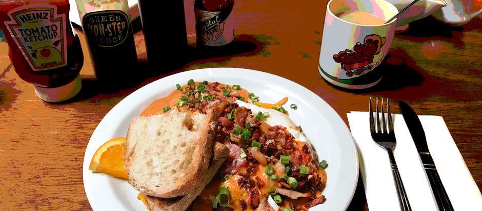 Mt St Helens breakfast dish