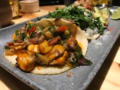 Mezcal Restaurant Tacos