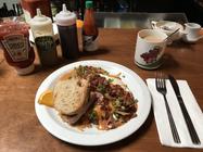 Mt. Saint Helens breakfast
