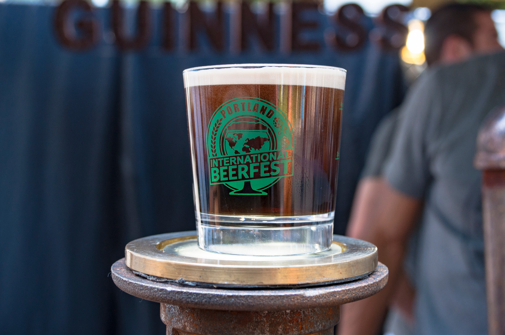 Guinness Booth