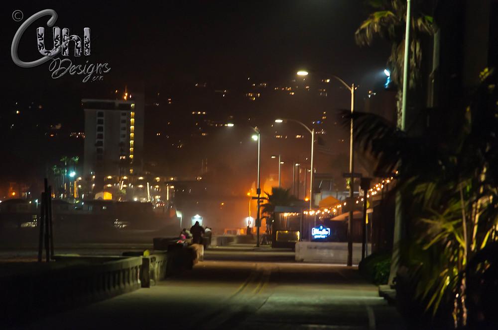 Mission Beach Night - San Diego, CA