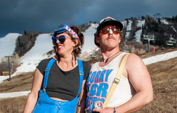 A Couple Skiers