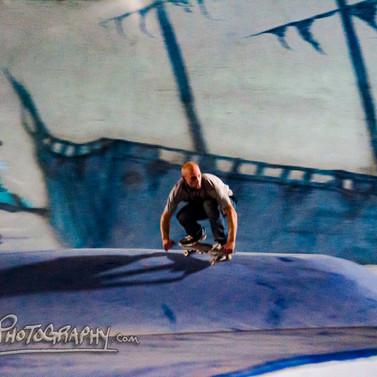 Burnside Skateboarder
