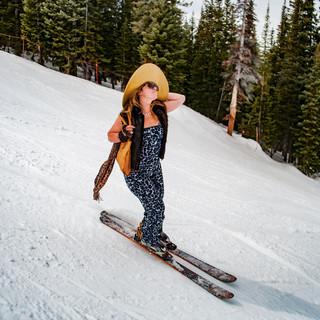 Skier Beth Hadrys