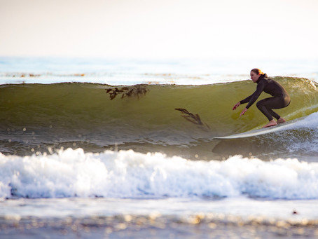 Sustainable Surf: SHAPER: Ashley Lloyd