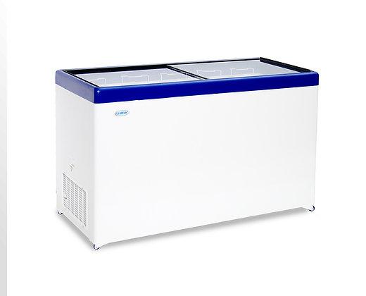 """Морозильный ларь """"Снеж"""" МЛП-500 с прозрачной стеклянной крышкой"""