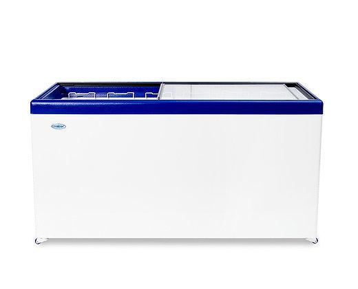 """Морозильный ларь """"Снеж"""" МЛП-600 с прямым стеклом"""