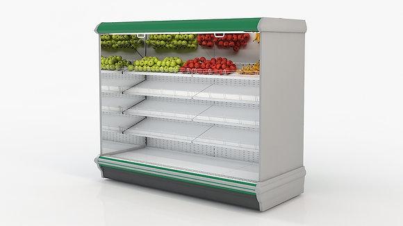 Витрины Горки Немига серия-П2 BВ (-1..+10°C) фруктовые