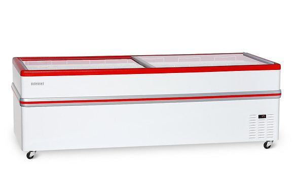 Морозильная бонета «Bonvini» BF 2500L (со съёмными створками)