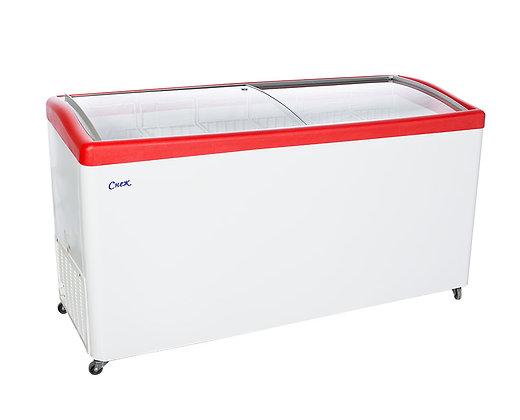 """Морозильный ларь """"Снеж"""" МЛГ-600 с гнутым стеклом"""