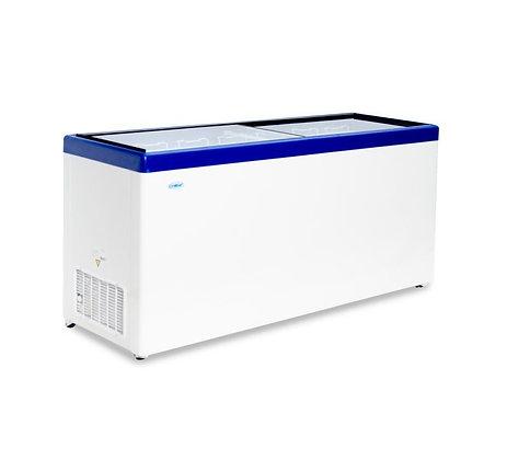 """Морозильный ларь """"Снеж"""" МЛП-700 с прямым стеклом"""