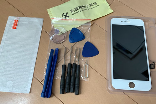 iPhone7 画面割れ 照度アップ液晶 修理用パネル