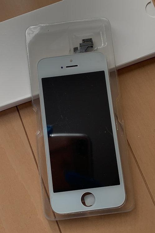 iPhone5S SE液晶パネル 白 AAA 純正LCD仕様