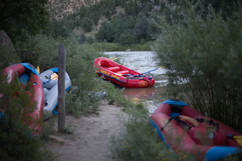 Camping over night multi day trips with Santa Fe Rafting in New Mexico