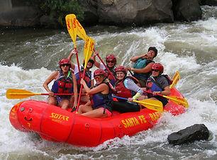 Santa Fe New Mexico Whitewater Rafting on the Rio Grande River
