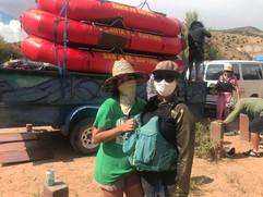 Rigging boats with Santa Fe Rafting