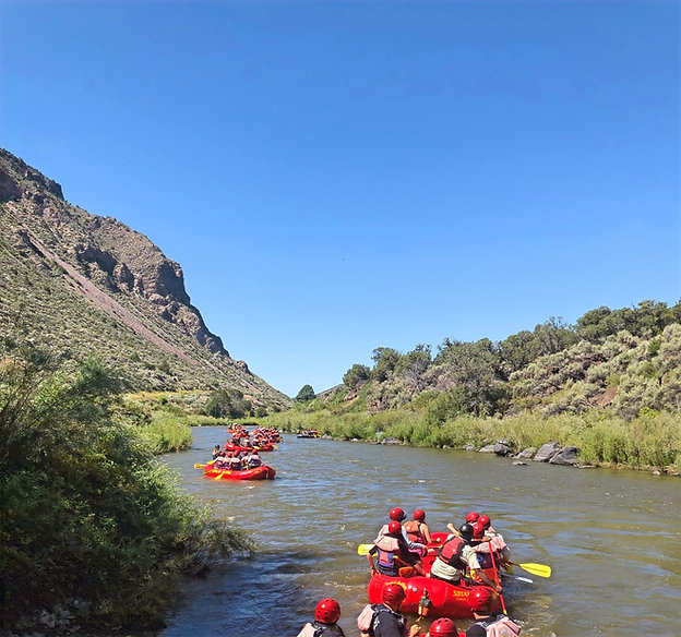 Boating, Kayaking, boat rentals, fishing, tour guides in the Santa Fe and Taos area. Look for your next New Mexico River Adventure with Santa Fe Rafting.