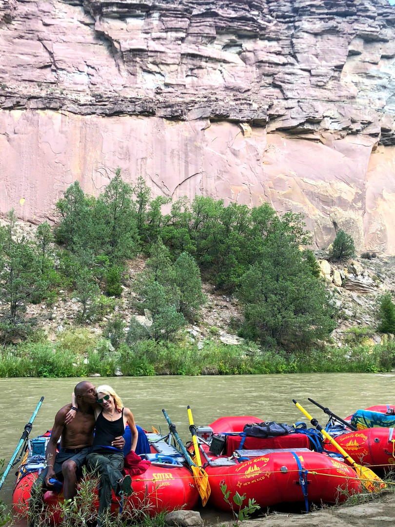 Beautiful Chama Wall pictures and fun times with family and friends on over night trips with Santa Fe Rafting Company. Enjoy, the river, great, healthy food camping with Santa Fe Rafting Company in New Mexico. Unforgettable anual tip for family renuion and anniversaries.