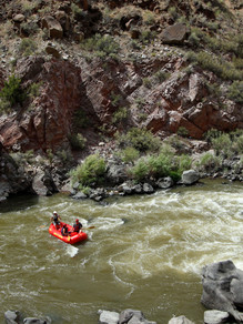 Mighty Famous Rio Grande River in Pilar New Mexico Santa Fe Rafting Company is the best whitewater outfitter choice for you and your family for a New Mexico Adventure