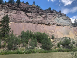 New Mexico Rio Chama Wall