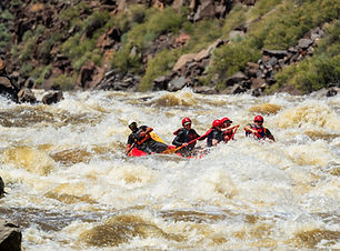 Santa Fe New Mexico Whitewater Rafting on the Taos Box on the Rio Grande River