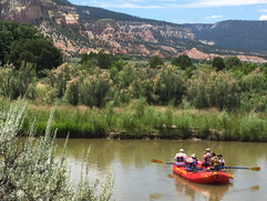 Floating on the River with Satna Fe Rafting best activities to do in Santa Fe NM
