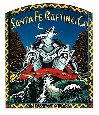 Santa Fe Rafting Company local by local artist Gregory Truett Smith. Amazing local art and fun things to do in Santa Fe with Santa Fe Rafting Company. Our Guides will give you insight on best places to and things to do in New Mexico