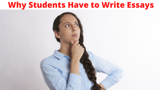 Why students have to write essays