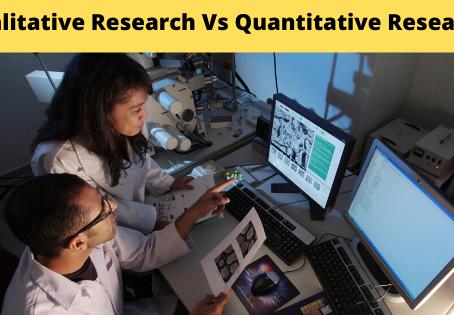 Qualitative Research Vs Quantitative Research