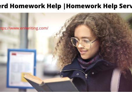 Nerd Homework Help   Homework Help Service