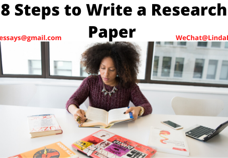 8 Steps to Write a Research Paper