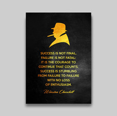 Winston Churchill Success