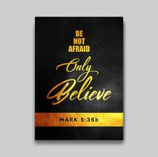 Mark 5:36b