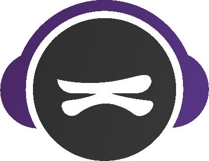 krush audio logo two color 30